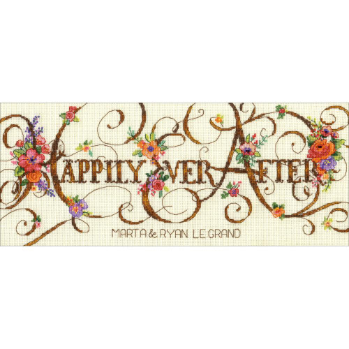Happily Ever After Dimensions Counted Cross Stitch Kit