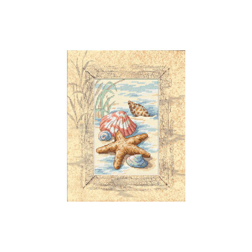 Shells in the Sand Dimensions Counted Cross Stitch Kit