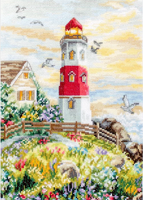 The Lighthouse Letistitch Counted Cross Stitch Kit