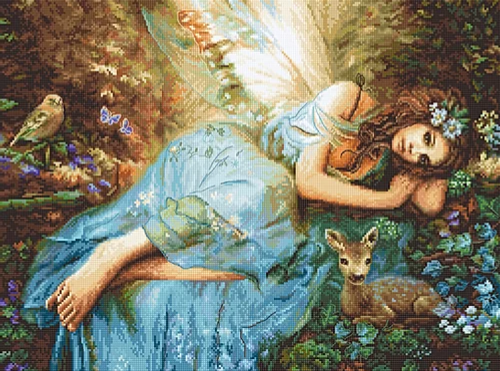 Spring Fairy Letistitch Counted Cross Stitch Kit