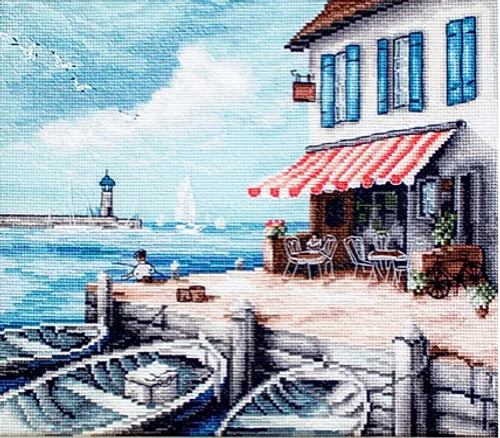 Sea Port Letistitch Counted Cross Stitch Kit