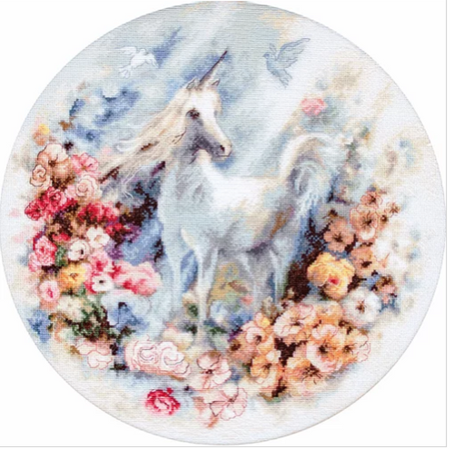 Unicorn Letistitch Counted Cross Stitch Kit