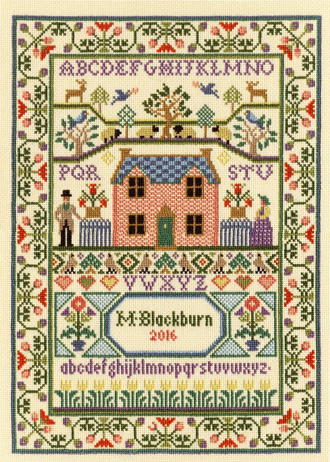 Country Cottage Bothy Threads Counted Cross Stitch Kit
