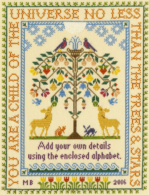 Tree of Life Bothy Threads Counted Cross Stitch Kit