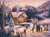 Skating by Twilight - Letistitch Counted Cross Stitch Kit