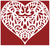 Filigree Heart 2 Counted Cross Stitch Pattern - PDF Download
