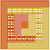 Quilt Block in Autumn Plaids Counted Cross Stitch Pattern - PDF Download
