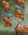 Bluebirds and Peaches - Shinysun's Counted Cross Stitch Pattern