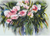 Watercolor Bouquet Counted Cross Stitch Pattern - PDF Download