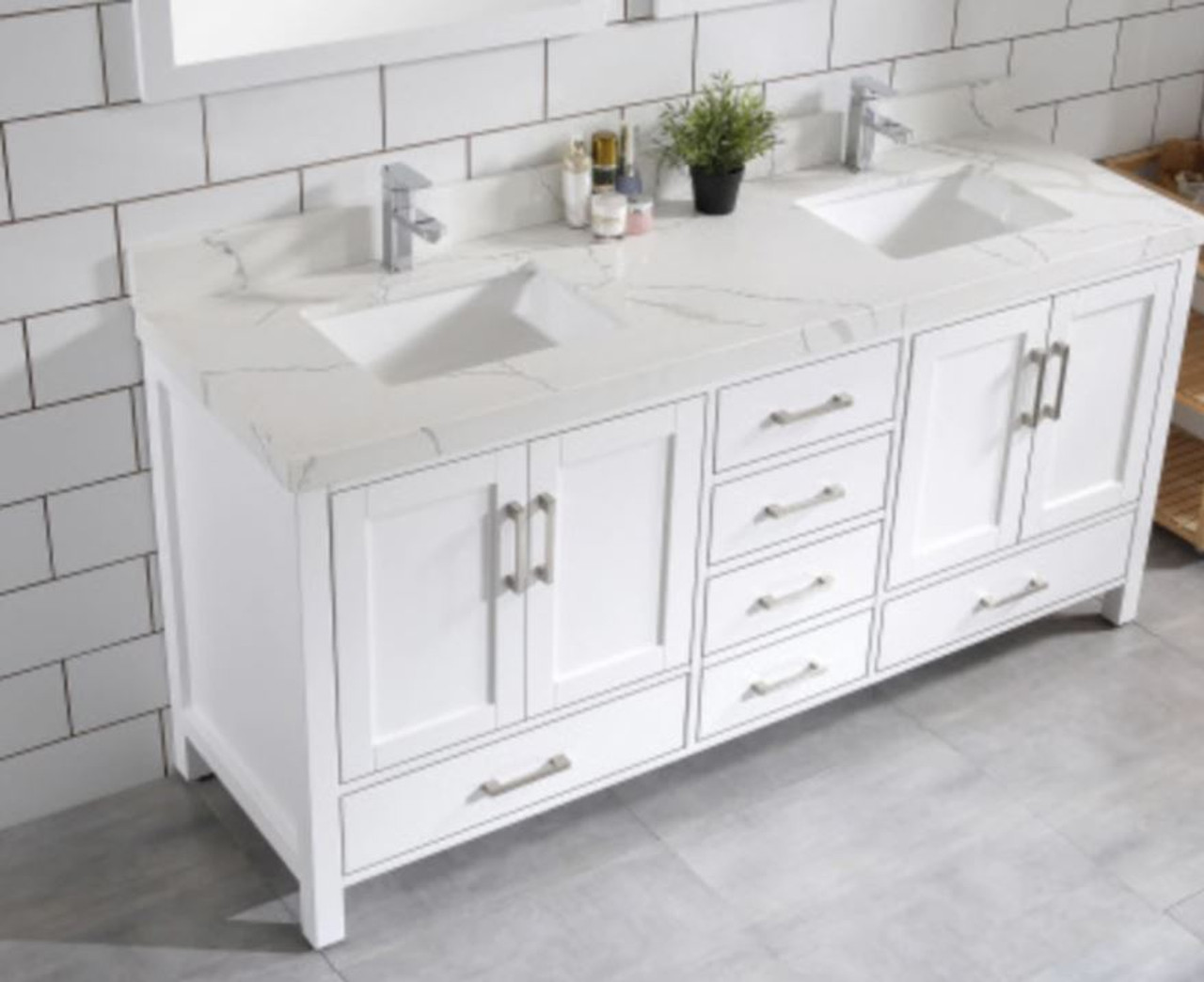 Royal Armada 72 Double Sink Bathroom Vanity