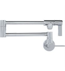 Franke PF3100 Ambient Wall Mounted Pot Filtration Kitchen Faucet With Finish: Polished Chrome