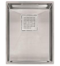 "Franke PKX11013 Peak 14 5/8"" Single Basin Undermount Stainless Steel Kitchen Sink"