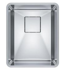 "Franke Pescara 14 3/4"" Single Bowl Undermount Stainless Steel Kitchen Sink"