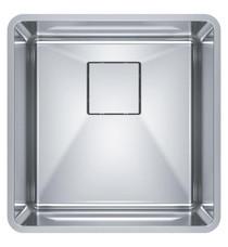 "Franke PTX110-17 Pescara 17 3/4"" Single Bowl Undermount Stainless Steel Kitchen Sink"