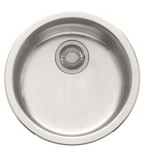 "Franke RBX-110 Rotondo 17 1/8"" Stainless Steel Single Basin Undermount Kitchen Sink"
