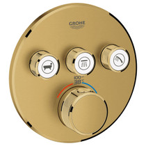 Grohe Grohtherm Thermostatic Valve Trim Only and Volume Control - Less Rough In