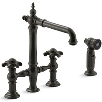 Kohler Artifacts  Bridge Kitchen Faucet with Sidespray