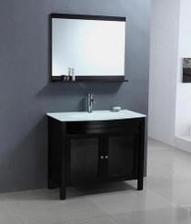 """Royal Juno 30"""" Espresso Bathroom Vanity"""
