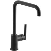 Kohler Purist Single Handle Swing Spout Kitchen Faucet