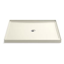 "Kohler Rely 48"" x 42"" Square Shower Base with Single Threshold and Center Drain"