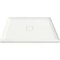 "American Standard Townsend 48"" x 36"" Rectangular Shower Base with Single Threshold and Center Drain"