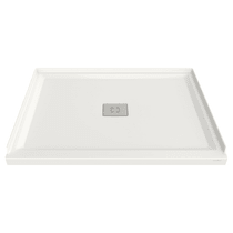 "American Standard Studio 36"" L x 48"" W Shower Base with Single Threshold and Center Drain"