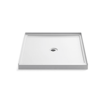 "Kohler Rely 36"" x 42"" Square Shower Base with Single Threshold and Center Drain"