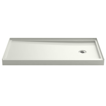 """Kohler Rely 32"""" x 60"""" Shower Base with Single Threshold and Right Drain"""