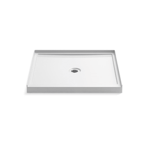 "Kohler Rely 36"" x 34"" Square Shower Base with Single Threshold and Center Drain"