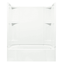 """Sterling Accord 60"""" x 31-1/4"""" x 73-1/4"""" Vikrell Shower with Drain Left"""