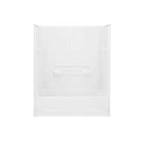 """Sterling All Pro 60"""" x 31-1/2"""" x 74"""" Vikrell Shower with Drain Left"""