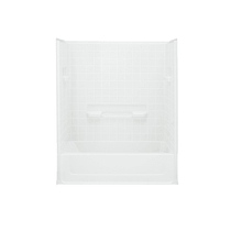 """Sterling All Pro 60"""" x 31-1/2"""" x 74"""" Vikrell Shower with Drain Right"""
