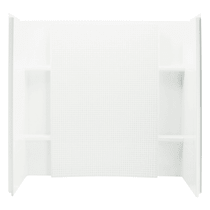 """Sterling Accord 74"""" x 60"""" x 32"""" Vikrell Shower Wall Set with Tile Design"""