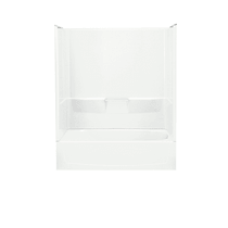 """Sterling Performa 60"""" x 30"""" x 76-3/4"""" Vikrell Shower with Drain Right"""