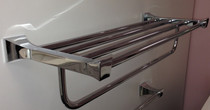 Evita Towel Rack Chrome