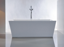 "Seawater  59"" Freestanding Bath Tub"