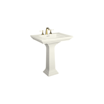 "Kohler | Memoirs pedestal lavatory with 8"" centers and Stately design K-2268-8"