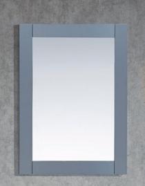 """Key Largo Wooden Framed 36"""" Gray Mirror"""