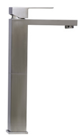 Single Lever Tall Brushed Nickel Faucet