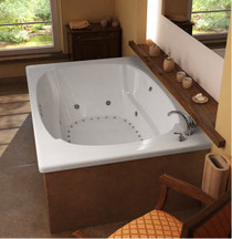 Charleston Acrylic, Drop-in Corner Tub Soaker