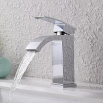Single Handle Waterfall Faucet,Chrome