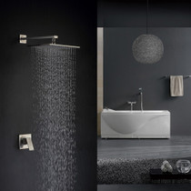 Royal Sedona One Way Shower System Brushed Nickel Finish