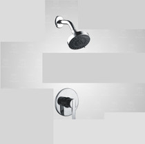 """Royal Deca 1-way Shower  4"""" Shower Head &Trim and Valve Included"""