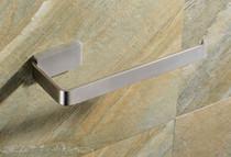 Costa Brushed Nickel Stainless Steel Towel Ring