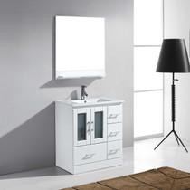 """Pinecrest 40"""" White Bathroom Vanity"""