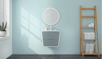 "Fleurco | Halo Round 24"" Bathroom Mirror"