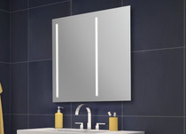 "Fleurco | Sunrize Off Centered Left 36"" Bathroom Mirror"