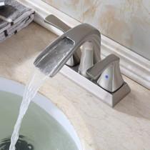 "Royal Costa 4"" Center set Brushed Nickel Faucet"