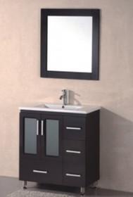"""Royal Doral 30"""" Espresso Bathroom Vanity"""
