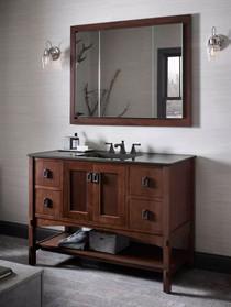 "Kohler Verdera 40""w x 30""h Triple Door Medicine Cabinet with Triple Mirror Design"